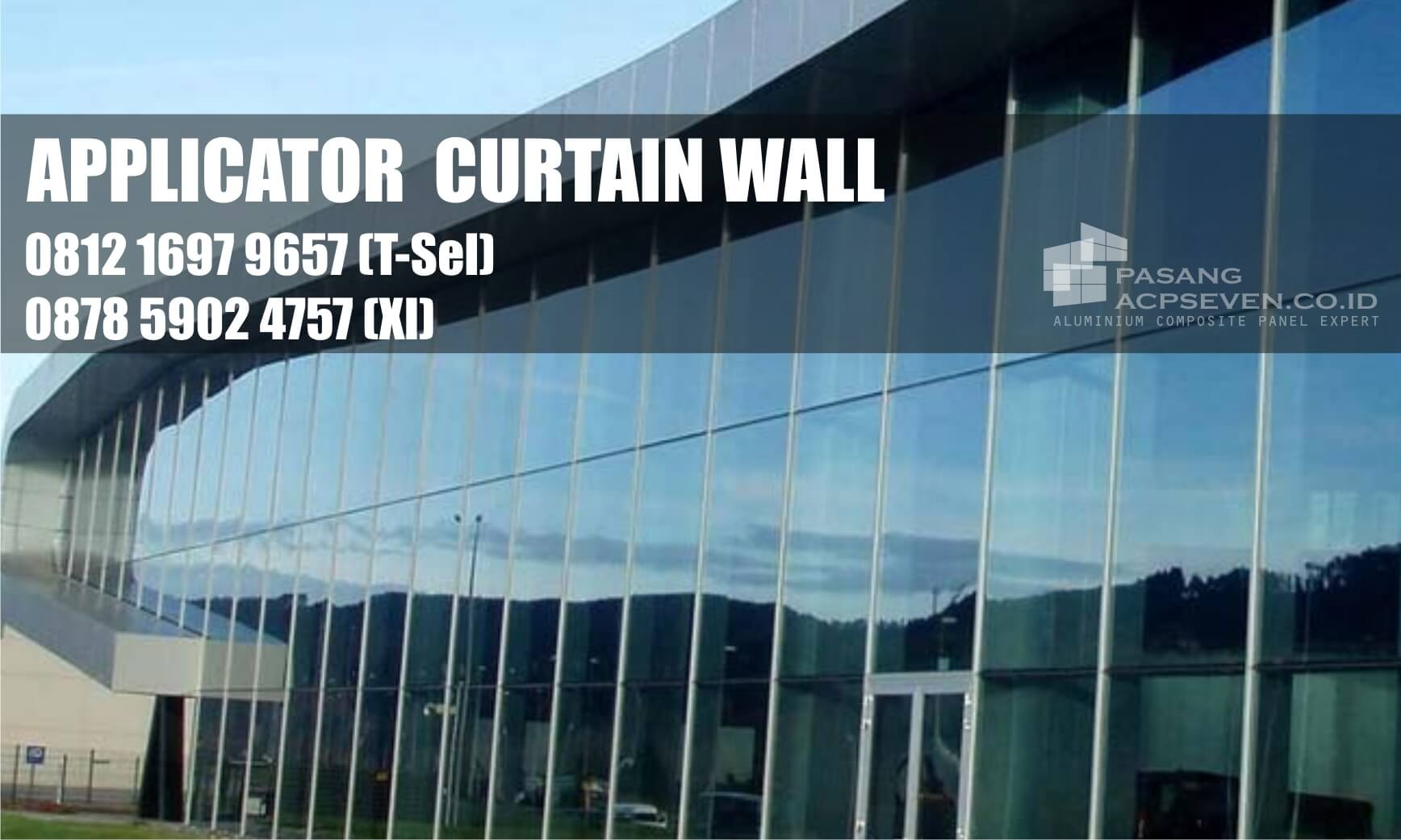 curtain wall surabaya, curtain wall di surabaya, kontraktor curtain wall surabaya